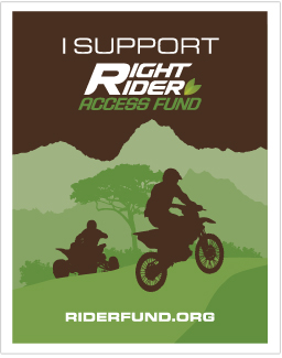 I Support Right Rider Access Fund