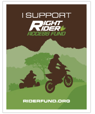 I Support Right Rider Fund